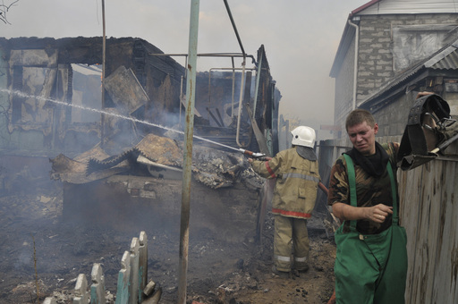 Holocaustic Fires in Voronezh
