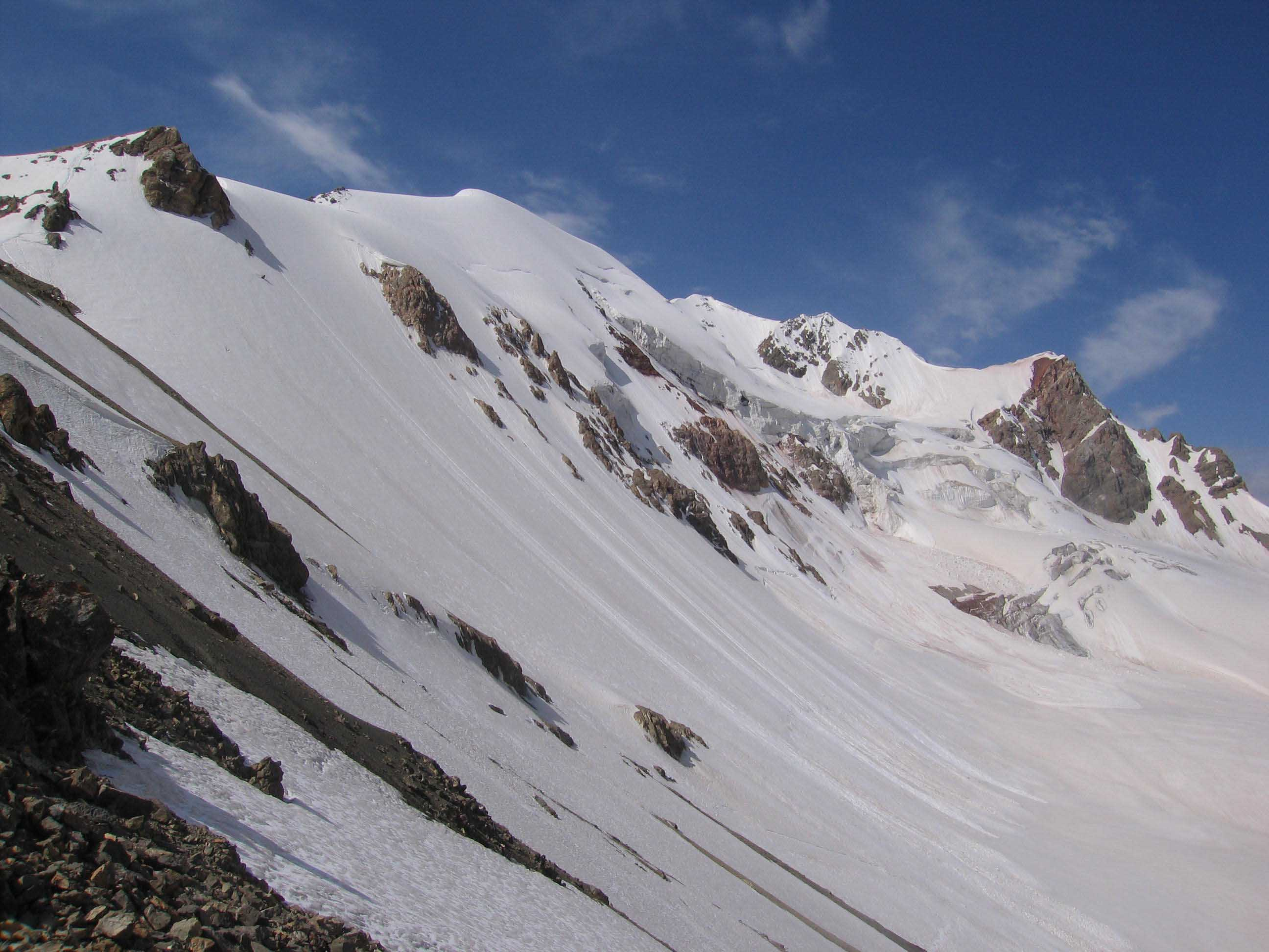 In The Pamirs Mountains