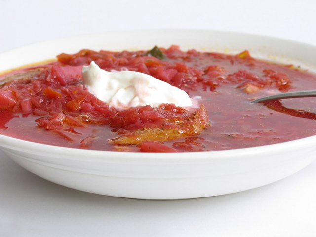 Borsch – A Delicious Red Soup