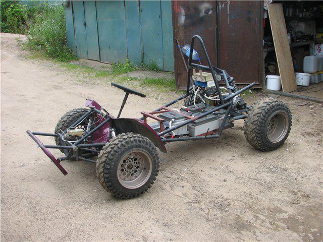 Weird Handmade Vehicles