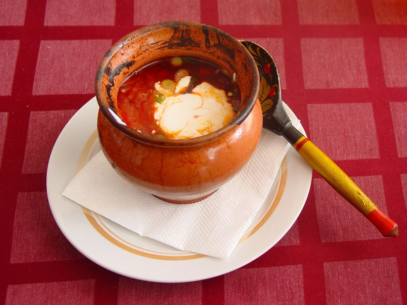 Borsch - A Delicious Red Soup