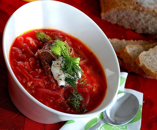 Borsch – A Delicious Red Soup | English Russia