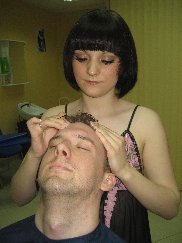 Трах в парикмахерской 0 фотография