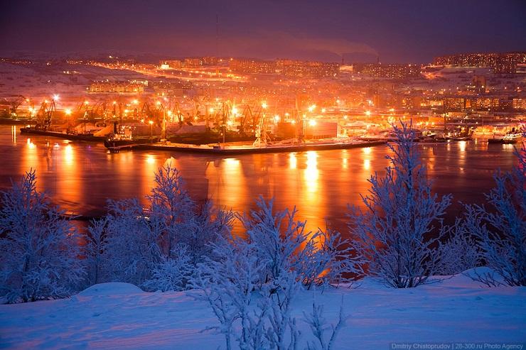 Severe Arctic Murmansk