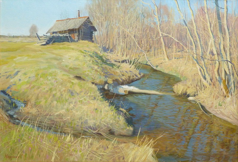 Russian Village in Art