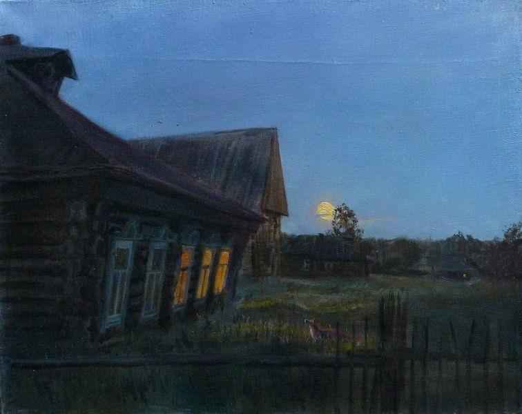 Russian Village in Art
