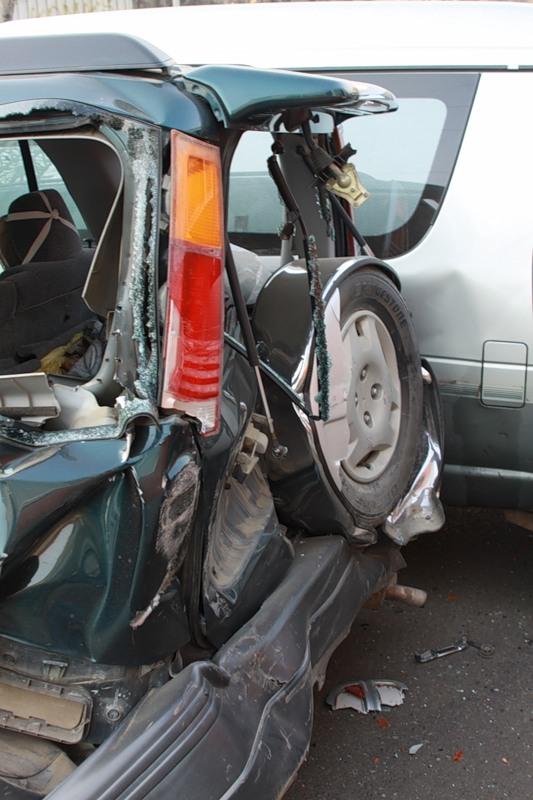 Huge Road Accident