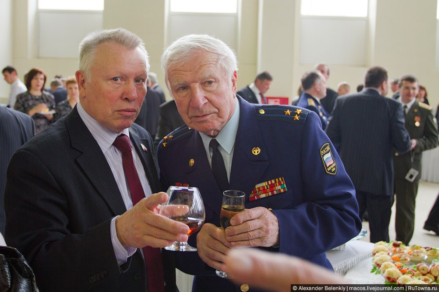Space Anniversary Celebrated In Zvezdny City