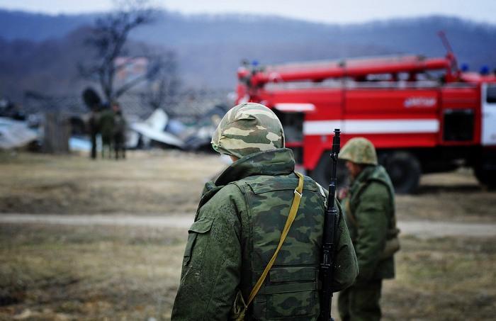 The Aircraft Crash Near Vladivostok