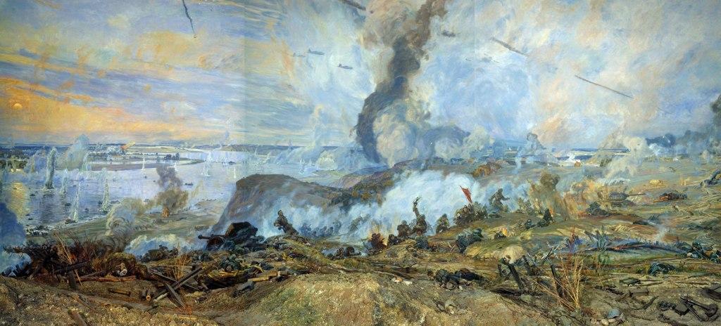 The War Through Artists' Eyes