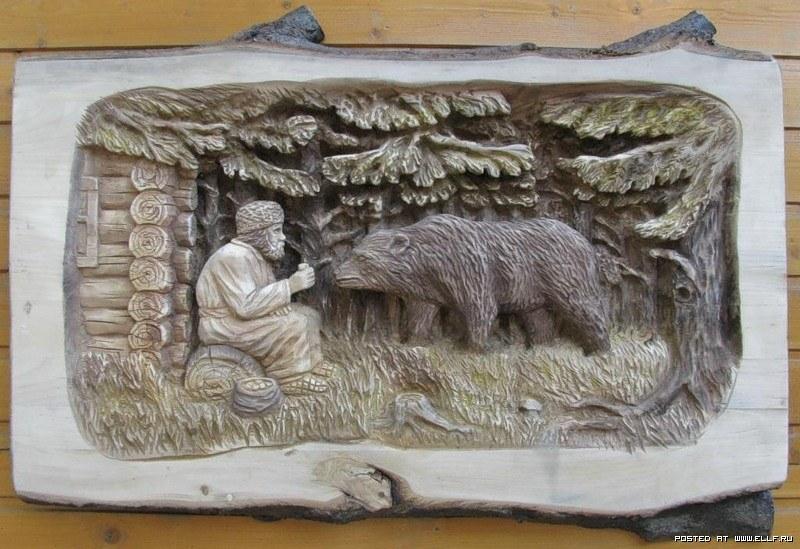 Unusual Woodcarving