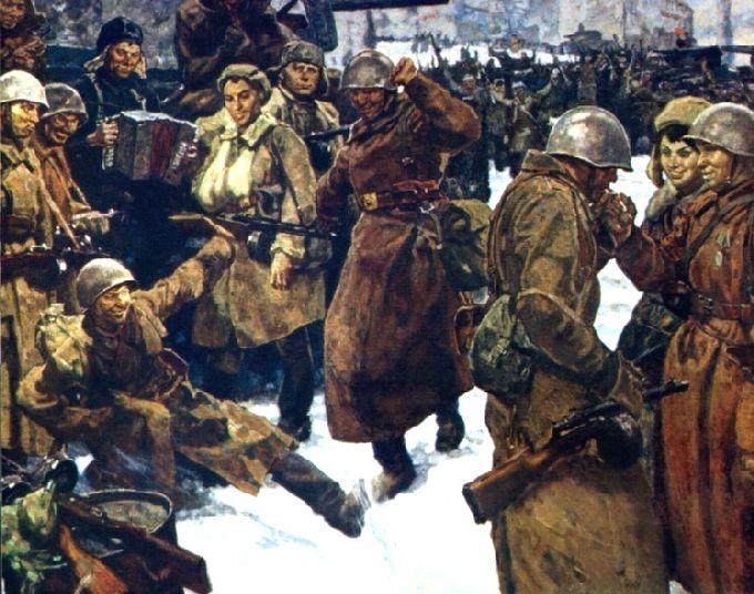 Litografias de la Batalla de Stalingrado