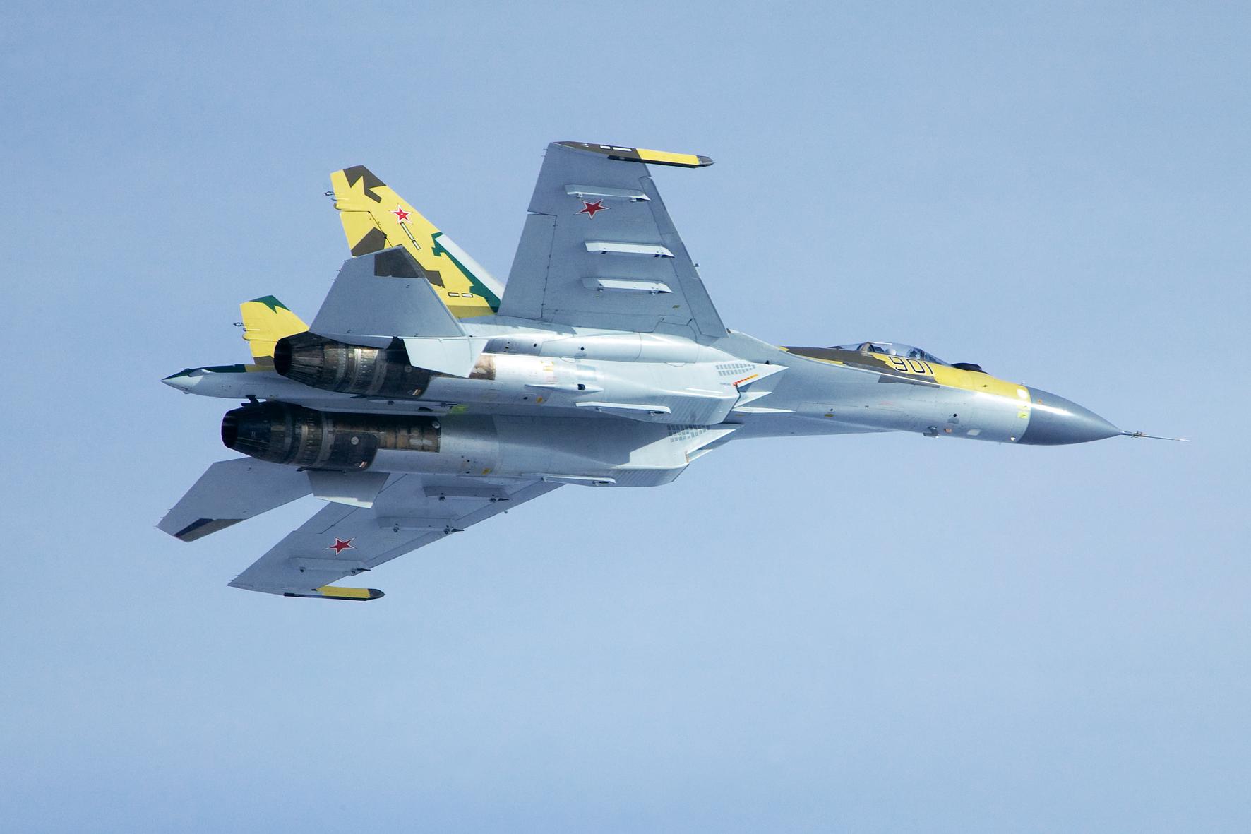 Russian Fighters SU-35 | English Russia  Russian Fighter...