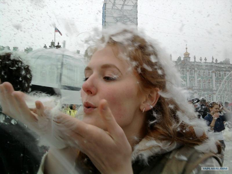Day Of Angels In St. Petersburg