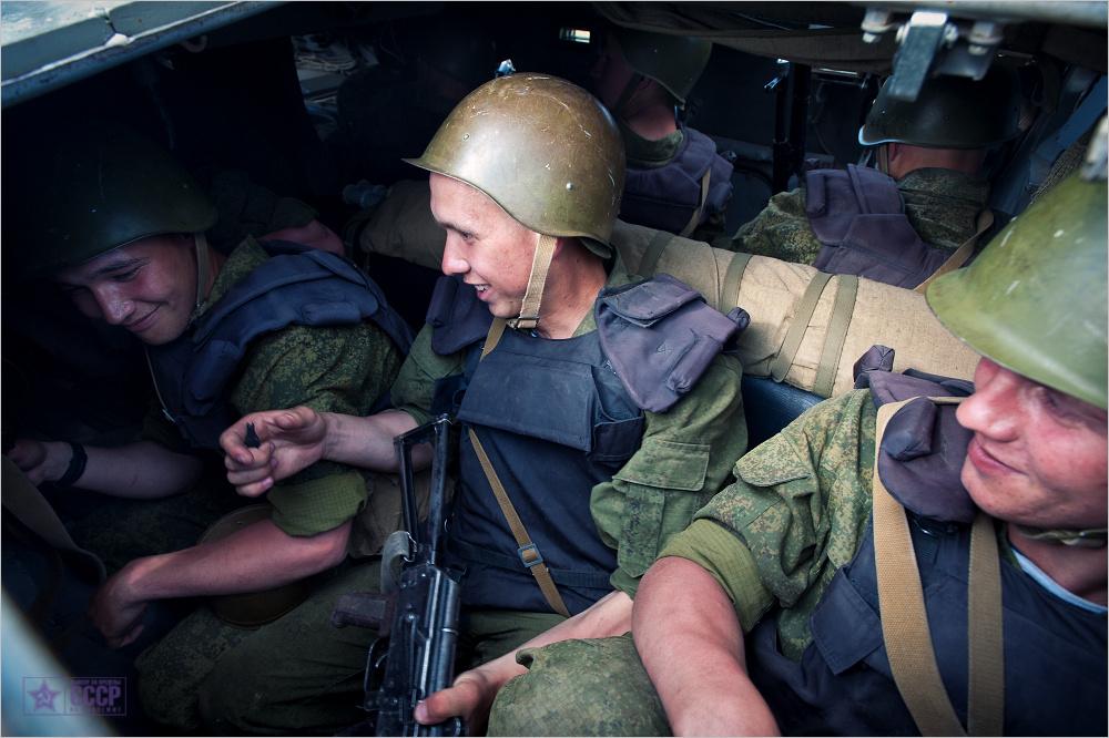 Marines of the Caspian Flotilla