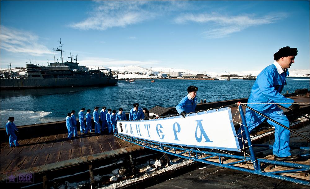 экипаж всего офицеров подводной лодки