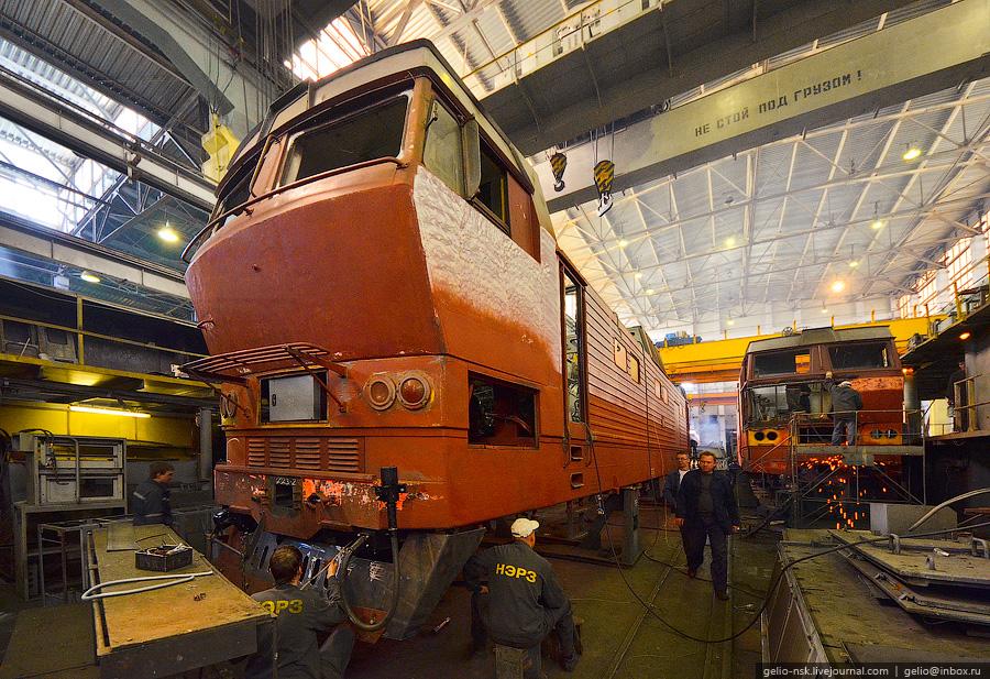 Electric Locomotive Repair In Novosibirsk