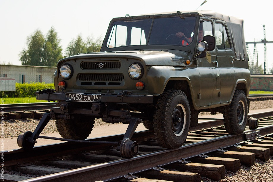The Russian Federal Military Railway Service