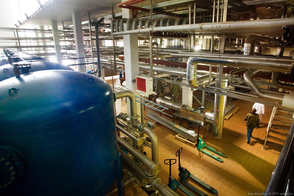 A Modern Brewing Plant In Mytishchi