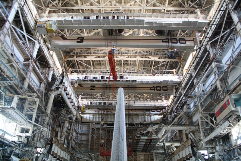 A Baikonur Orbiter Under Reconstruction