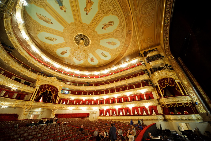 The Bolshoi Theater Opening