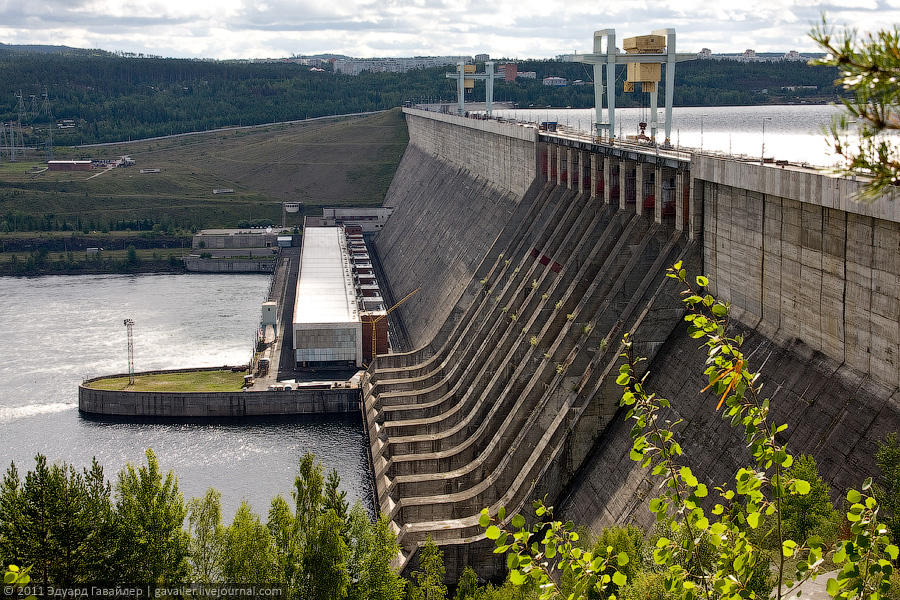 Hydropower Plant In Ust-Ilimsk