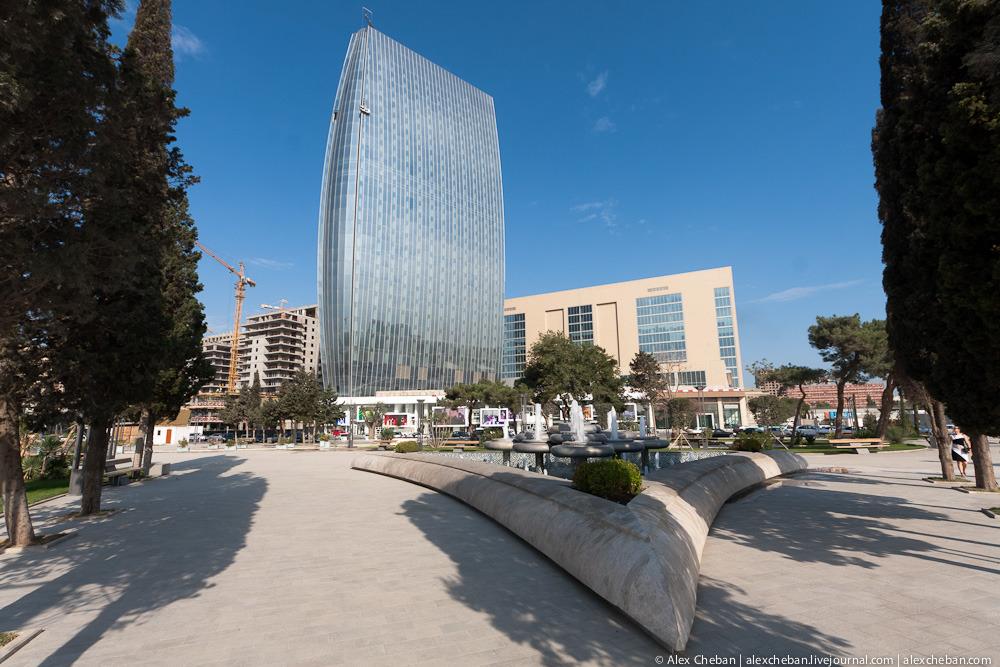 Modern Baku Future That Has Already Come English Russia