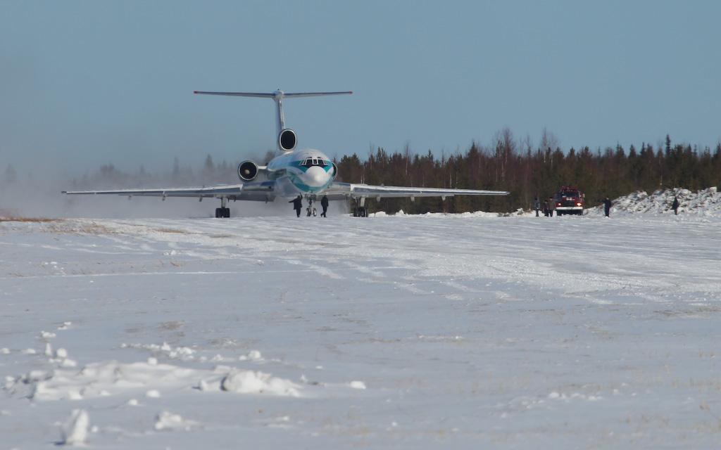 The Lucky Tu-154
