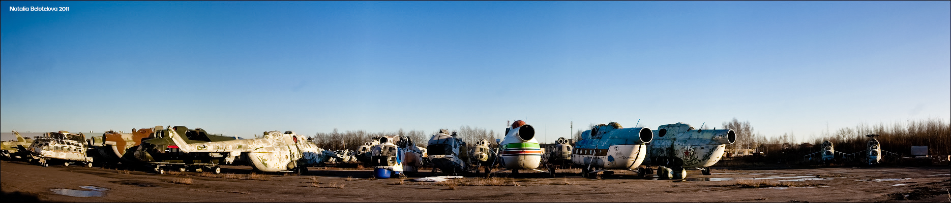 Where Is Abandoned Rotor-Driven Equipment Stored?