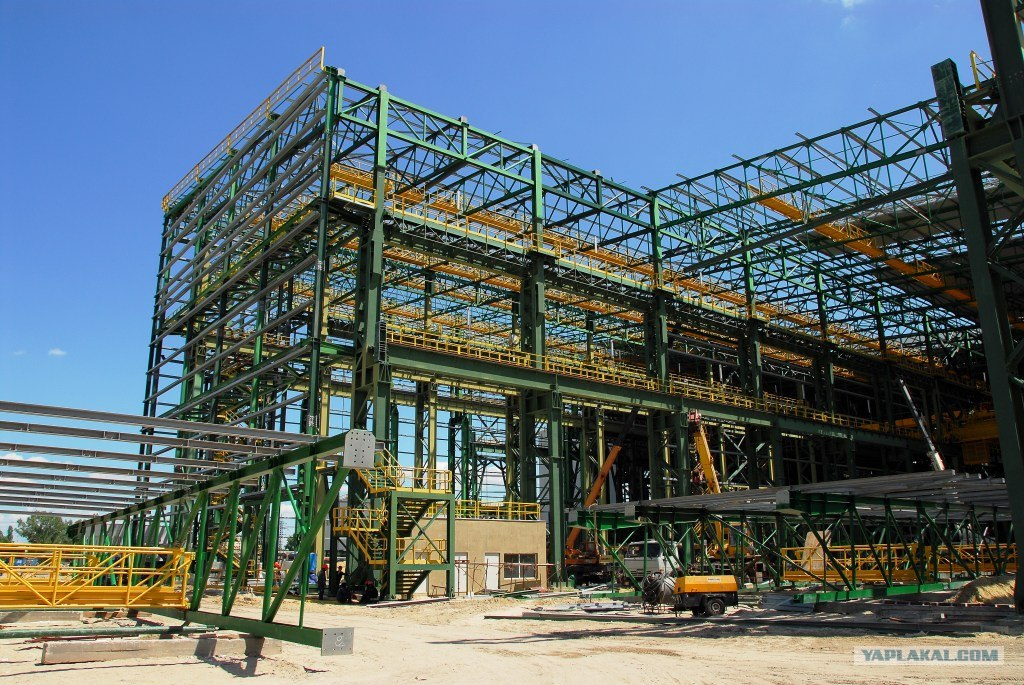 Construction Of A Building Plant in Ukraine