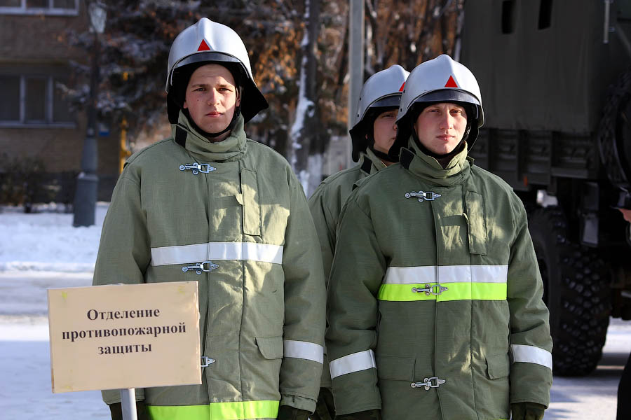 A Military Meeting In Tambov