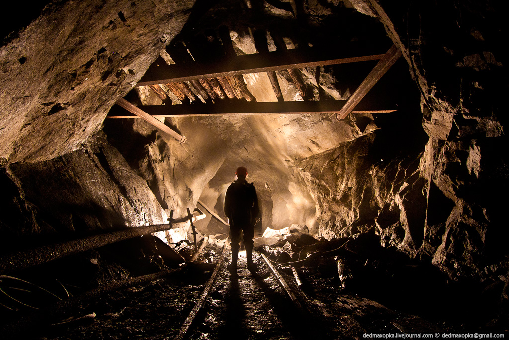 Journey Through The Semi-Flooded Mine