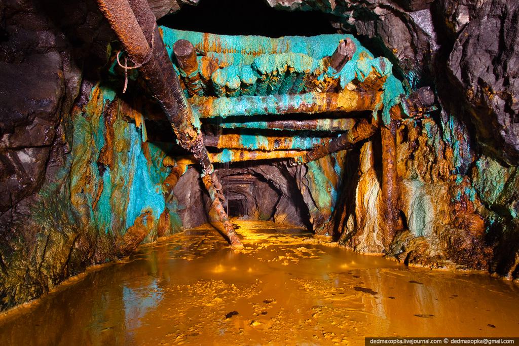 Journey Through The Semi-Flooded Mine