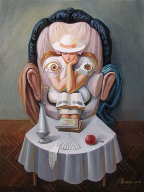 Optical Illusions Of A Painter