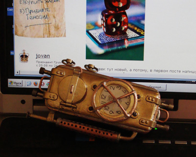 Steam-Punk Cell Phone Is Calling!