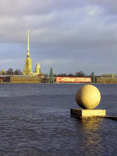 Who Has Stolen Winter From Saint Petersburg?