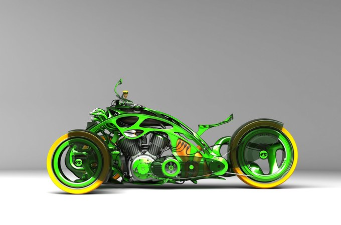 COrgTRkv1vid2 thumb 680x449 180031 Cars And Motorcycles Of The Future