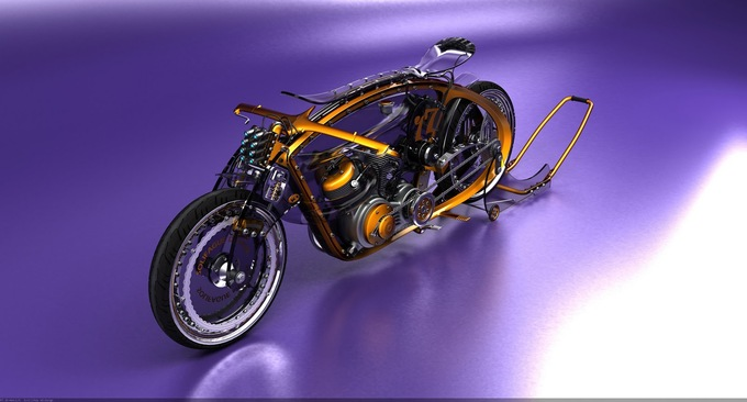Cars And Motorcycles Of The Future