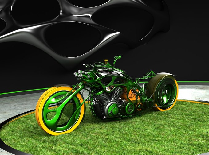 ex13 1 10000 thumb 680x505 180075 Cars And Motorcycles Of The Future