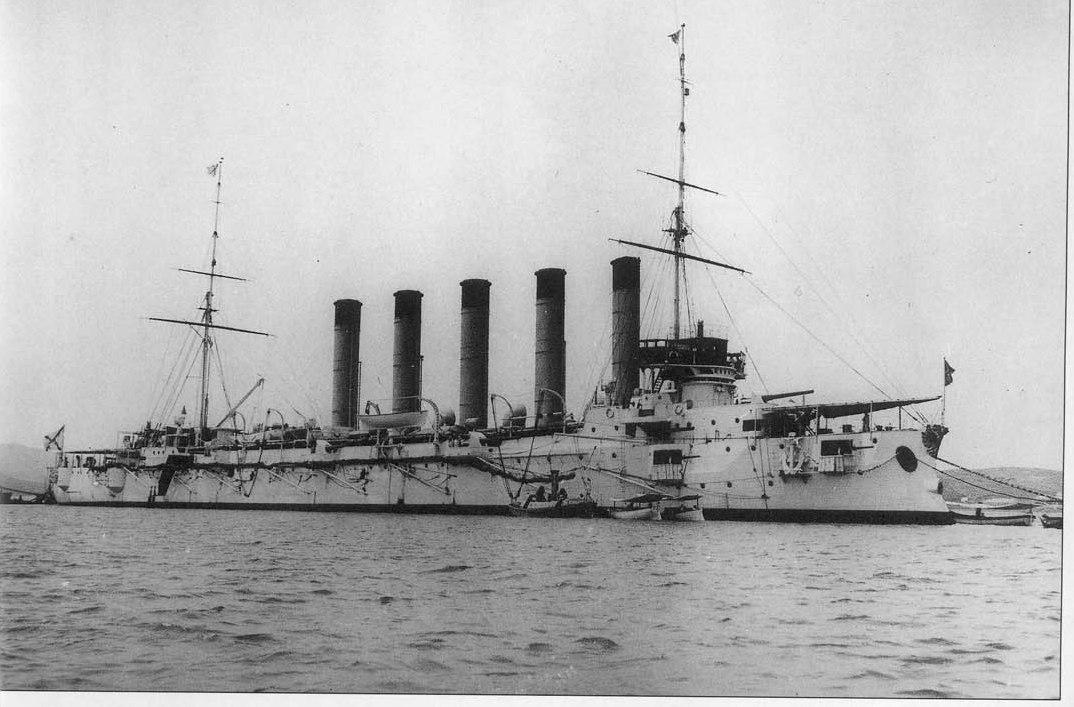 Pre-Revolution Russia In Photos. Russian Pacific Fleet Of 1898 – 1905