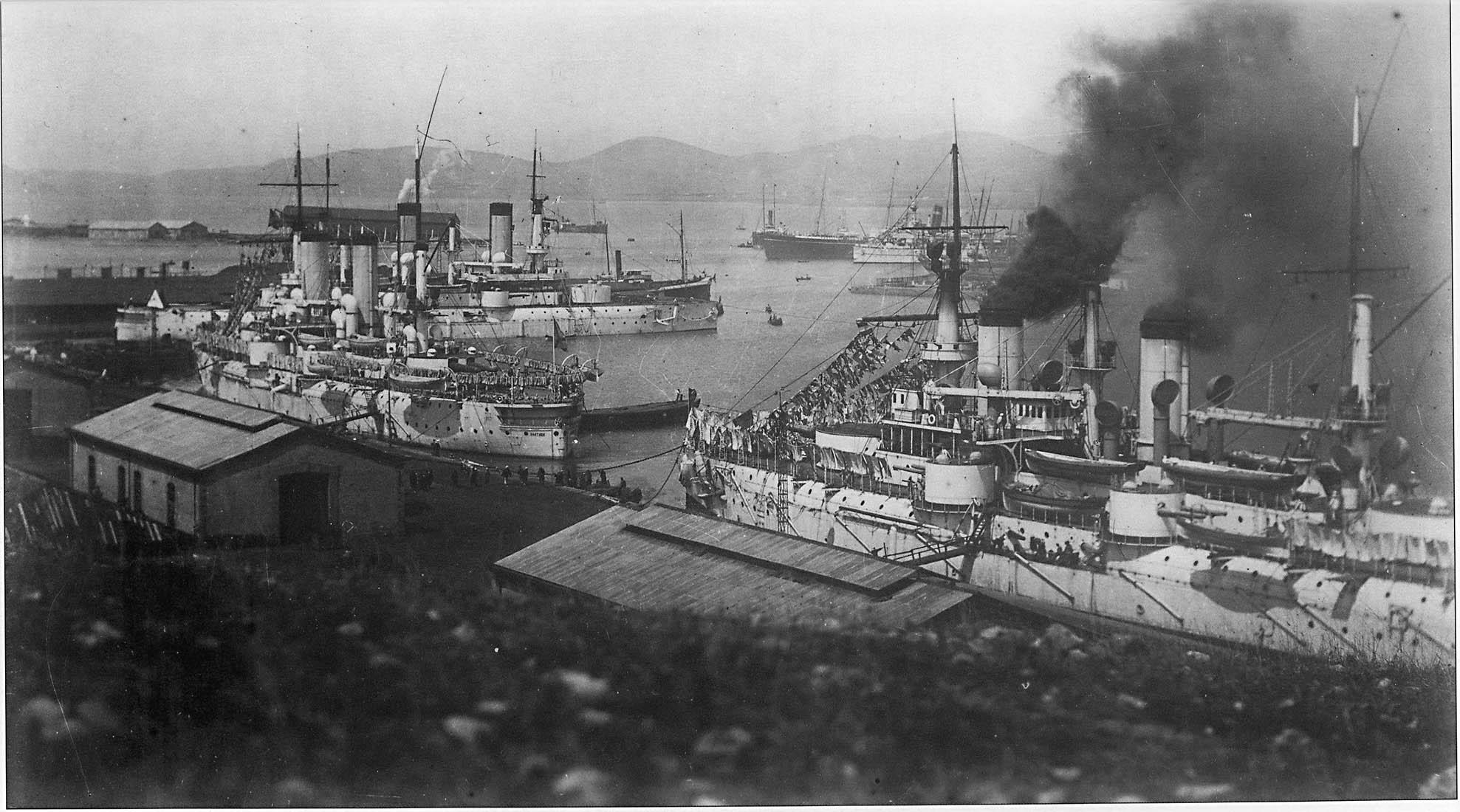 Pre-Revolution Russia In Photos. Russian Pacific Fleet Of 1898 - 1905
