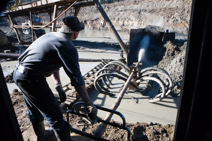 Gold-Mining Business Of Salair