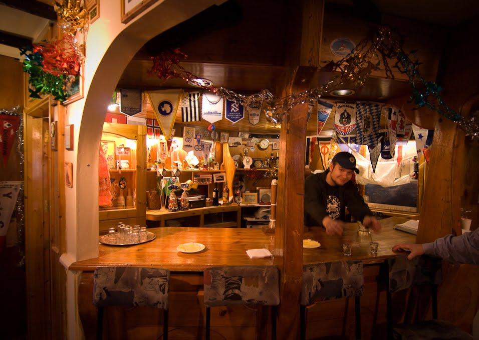 Ukranian Restaurant In Antarctica?