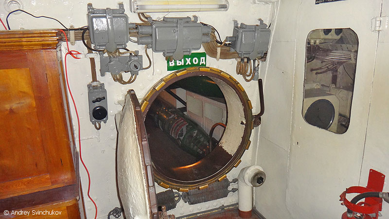 Inside A Submarine In Vladivostok