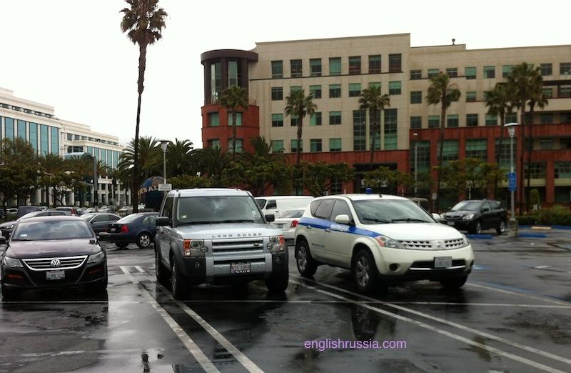 Russian Police in LA!