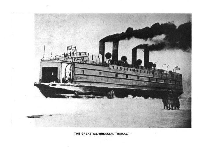 Icebreaker Baikal 1911 Great Ice Breaker Of a Sad Destiny