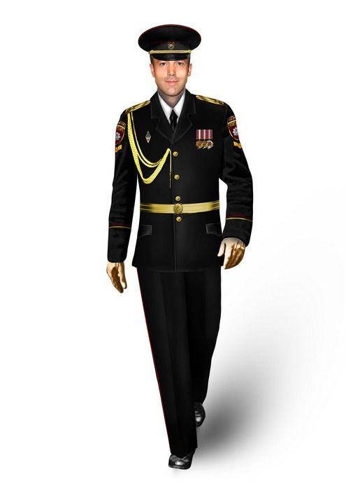 Quite Unexpectedly In Ukrainian Police Uniform