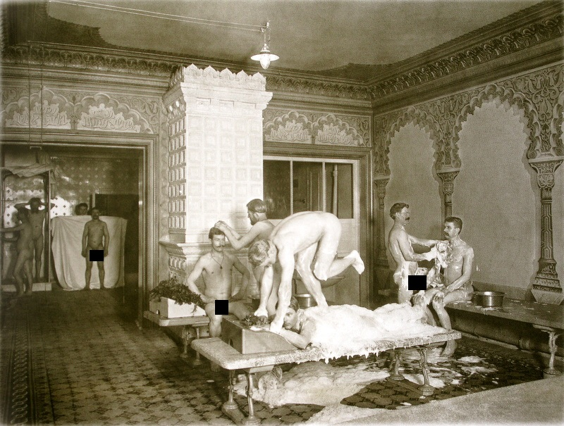 Bathhouse of the Old Times