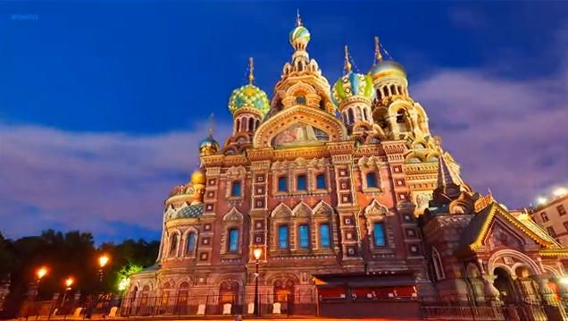 Timelapse Saint-Petersburg