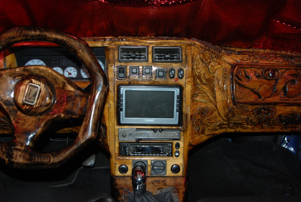 Cool Wooden Dashboard